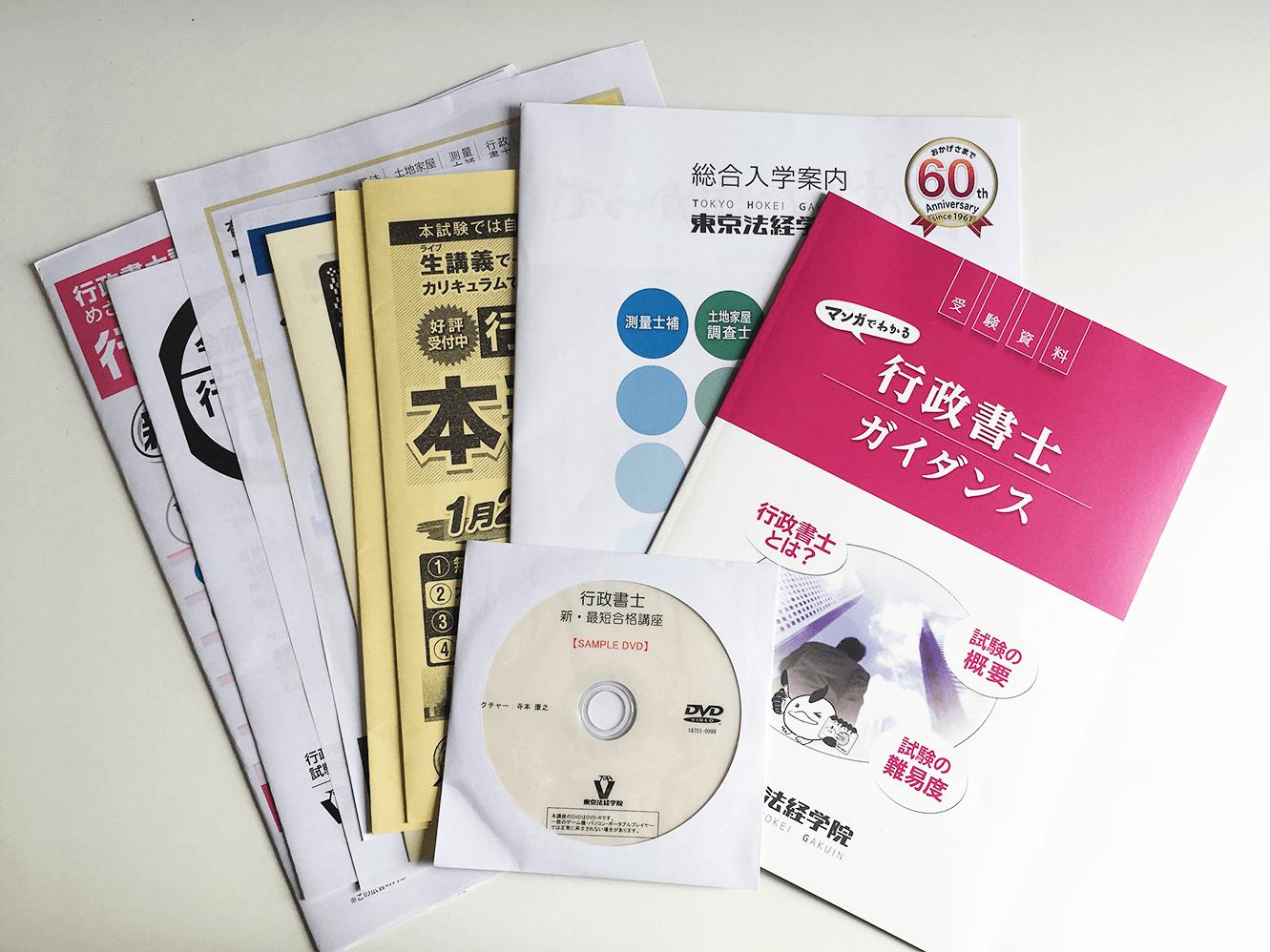 東京法経学院 行政書士 資料