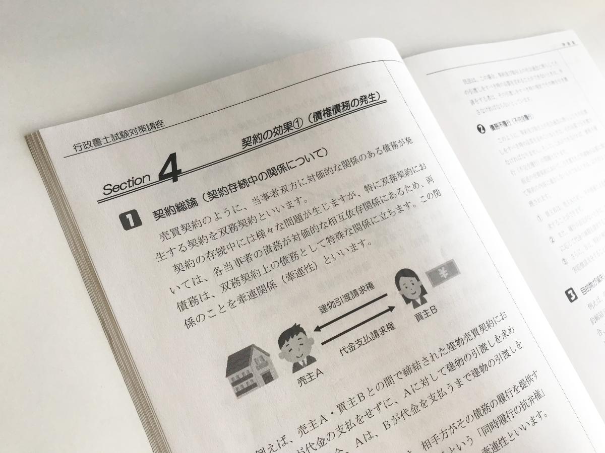 伊藤塾 行政書士講座 サンプルテキスト 内容